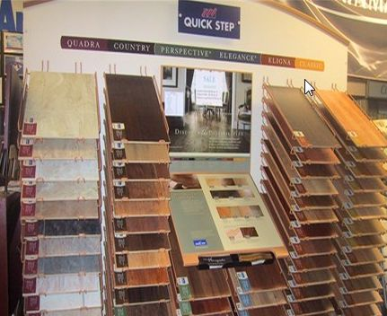 Laminate flooring buffalo new york for Laminate flooring displays